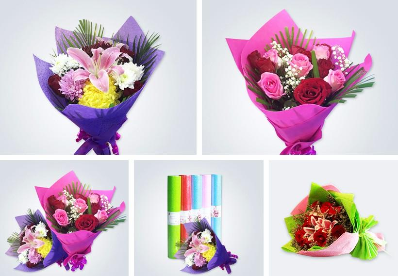 color gift wrapping paper wholesale for wrapping