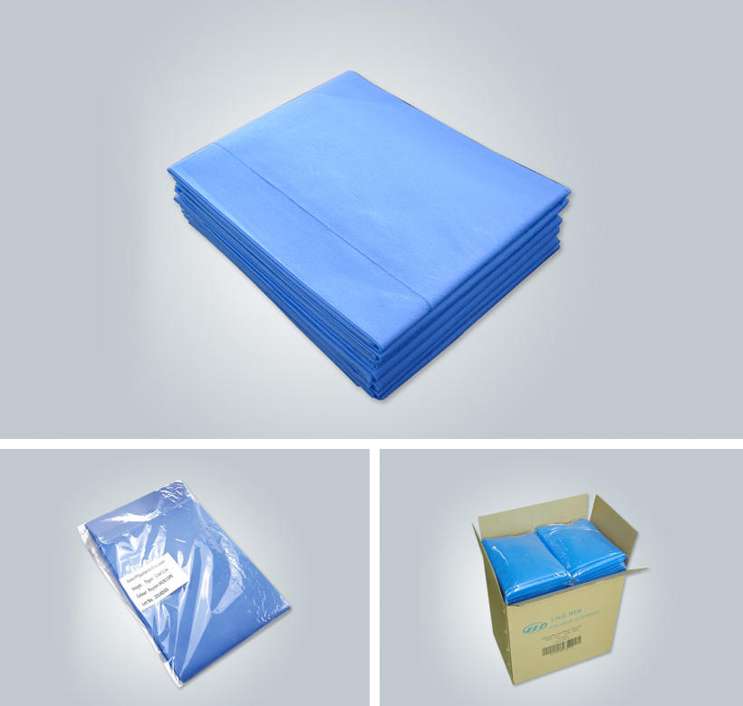sizes wide disposable bed sheets hygienic Synwin Non Wovens