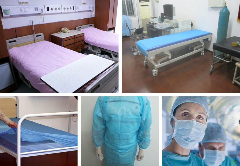 Synwin creative medical bed sheets from China for medical