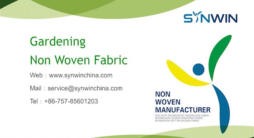 Gardening Non Woven Fabric