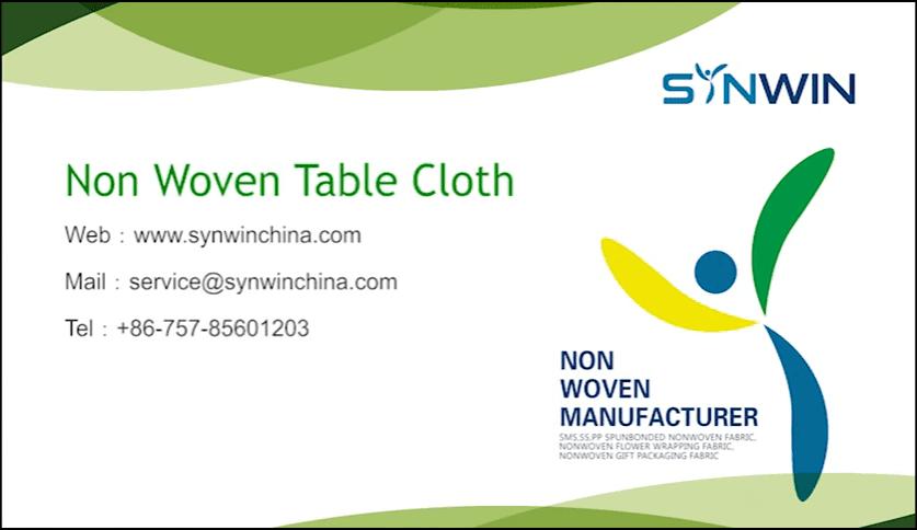 Non Woven Table Cloth
