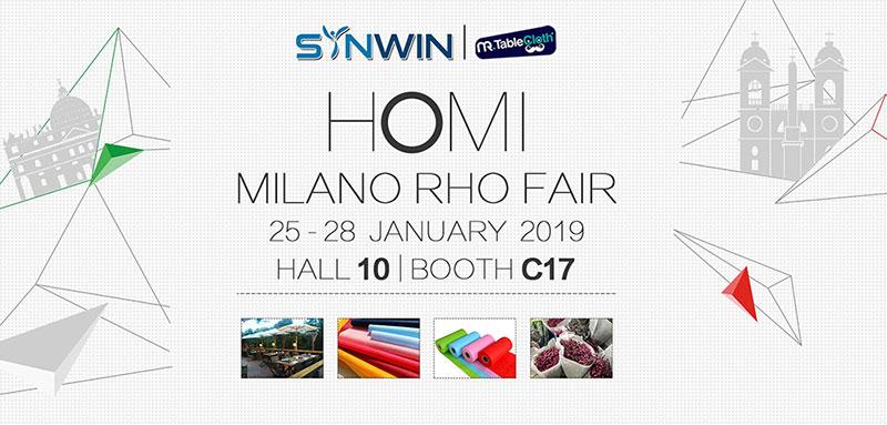 Synwin Non Wovens-Italian Exhibition | Top Non Woven Companies
