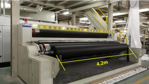 Synwin Non Wovens-Read The First Only 42m Non-woven Fabric Production Line In China News-1