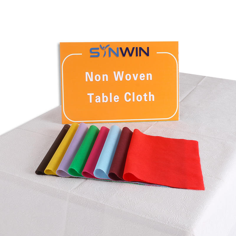 NON WOVEN FABRIC TABLE CLOTH 1*4HQ FROM FRANCE