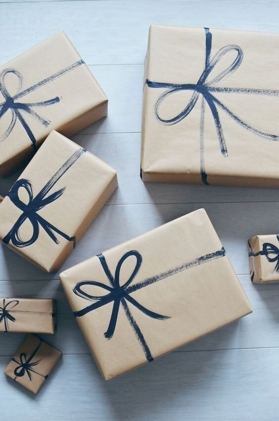 unique gift wrapping paper
