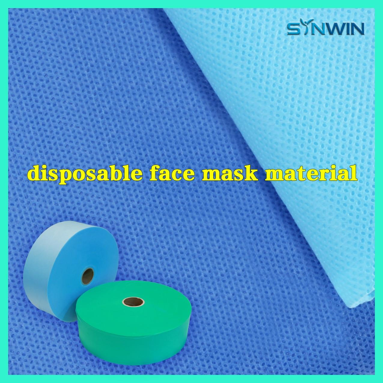 PP Non Woven Fabric For Face Mask