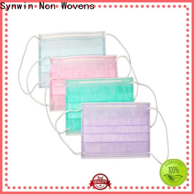 Synwin Custom surgical mask material manufacturers for home