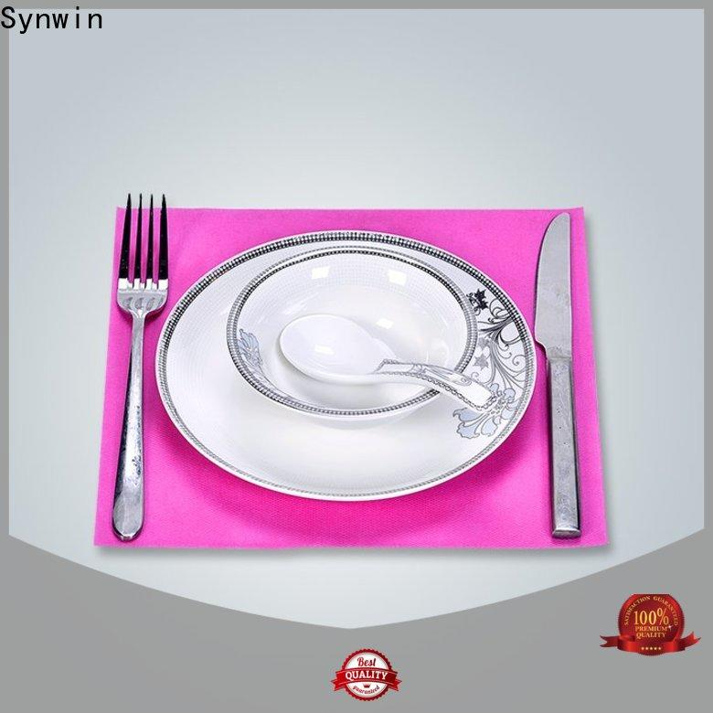 Synwin swtc004 fabric table mats factory for home