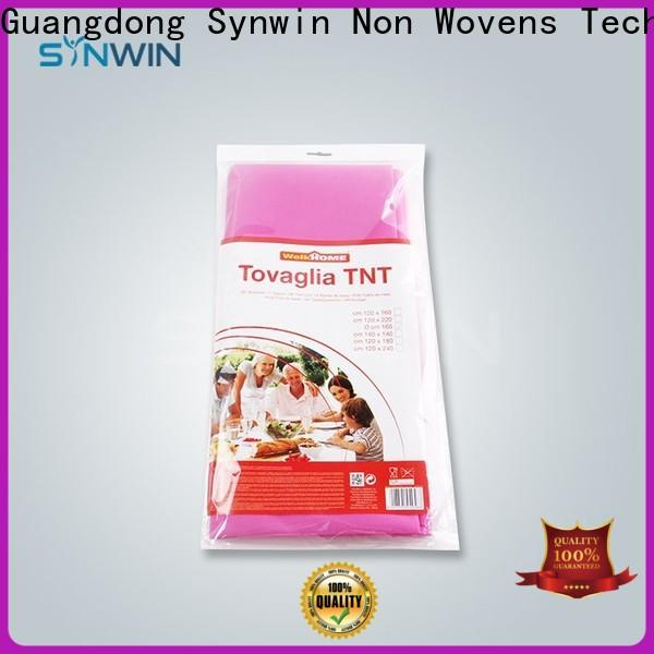 Latest non woven cloth suppliers woven manufacturers for tablecloth