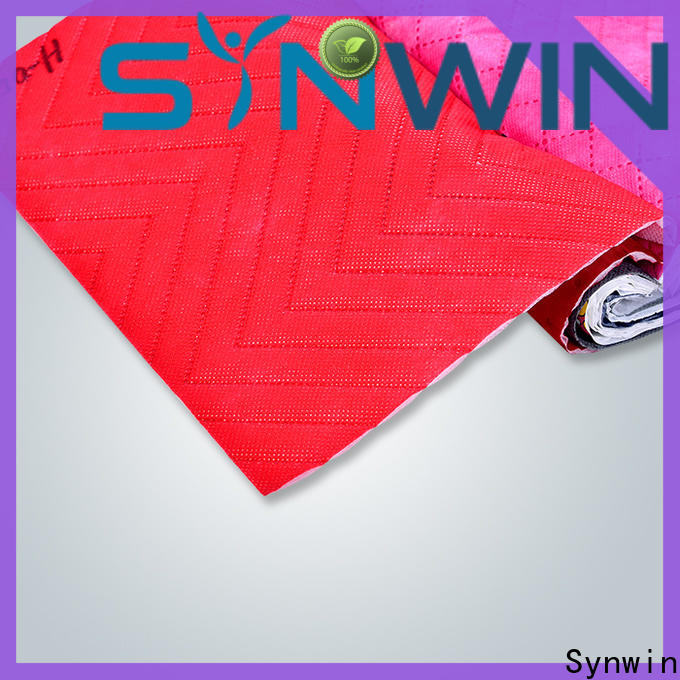 Synwin fabric spunbond non woven fabric manufacturer suppliers for hotel