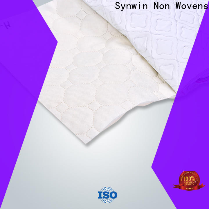 Synwin swfu003 spunbond non woven fabric manufacturer supply for tablecloth
