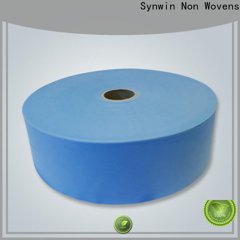 Synwin dispoable face mask material supply for tablecloth