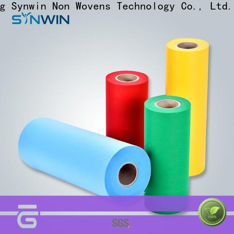 Synwin Top pp spunbond nonwoven fabric factory for household