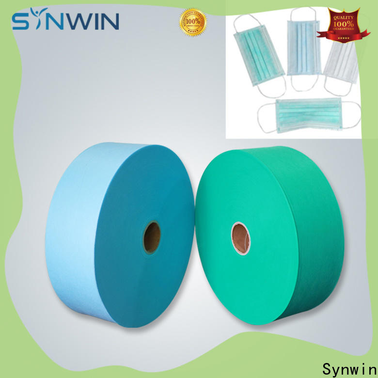 Synwin Best disposable mask raw material suppliers for home
