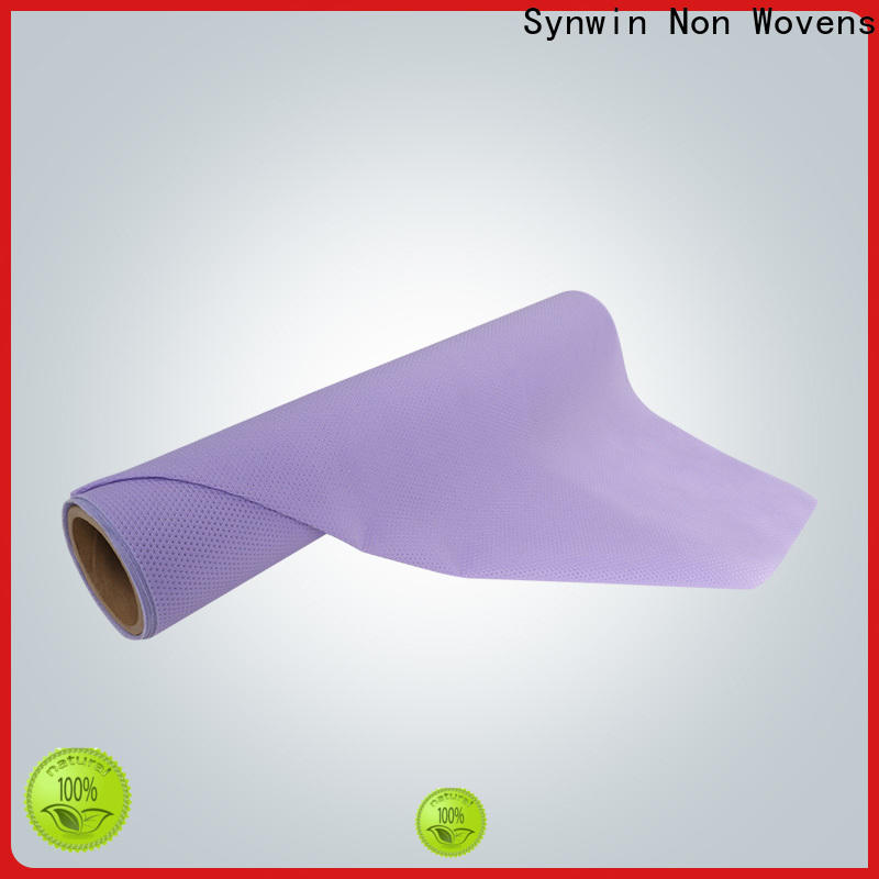 Synwin Best non woven polypropylene fabric suppliers company for packaging