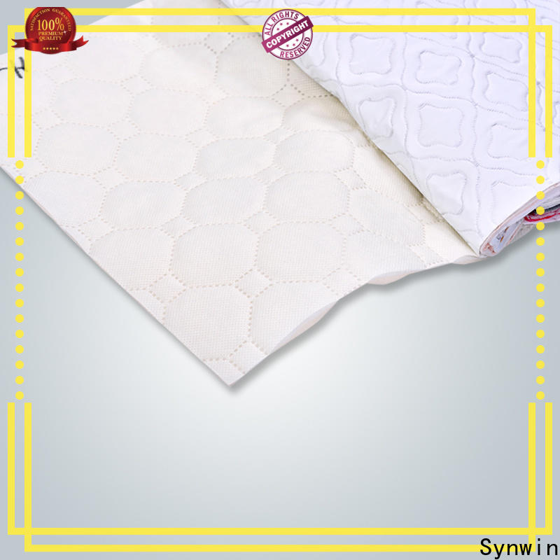 Synwin High-quality spunbond non woven fabric manufacturer company for tablecloth