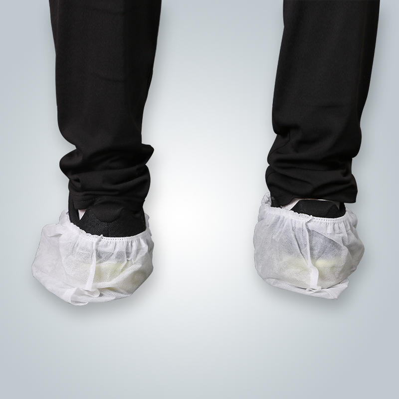 Surgical shoe covers disposable PP non woven shoe covers