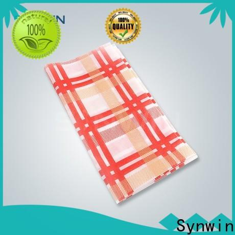 Synwin swtc004 non woven tablecloth factory for hotel