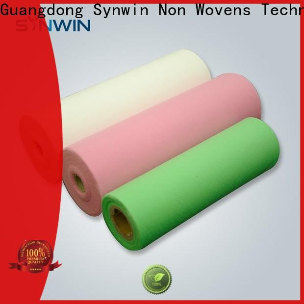 Synwin sgs pp non woven fabric suppliers for household