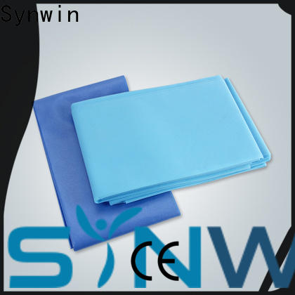 Synwin spunbond disposable bed sheets supply for tablecloth