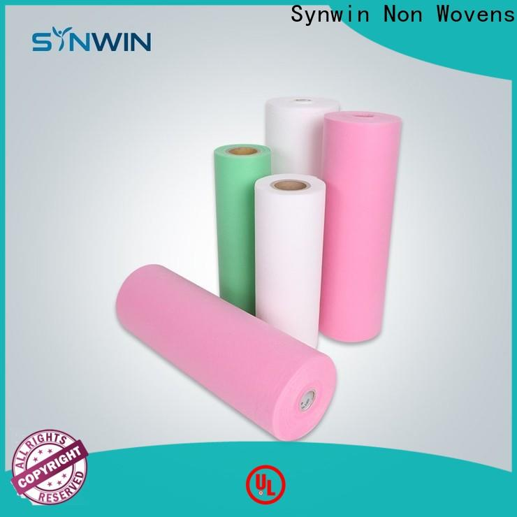 Synwin Latest pp non woven fabric manufacturer suppliers for wrapping