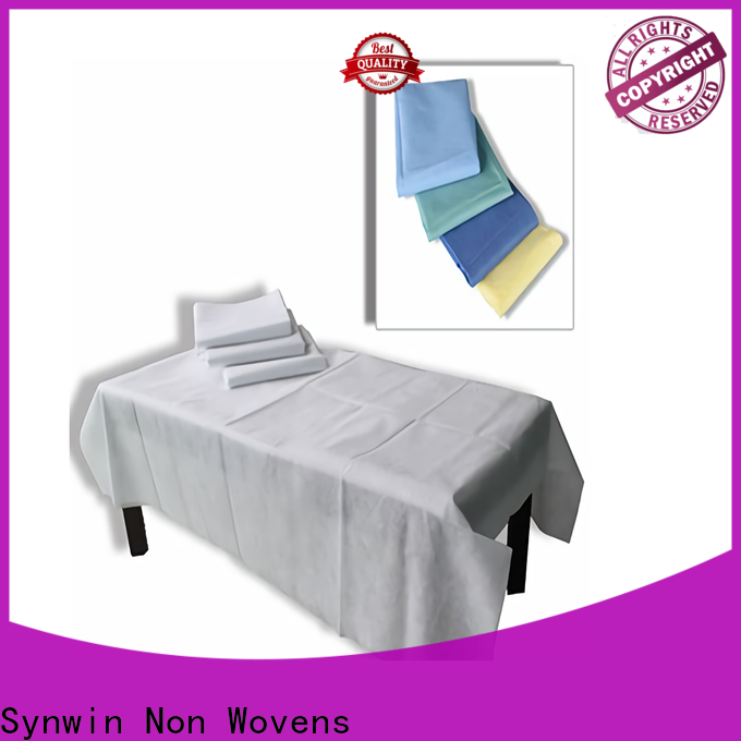 Synwin hygienic disposable bed sheets factory for home