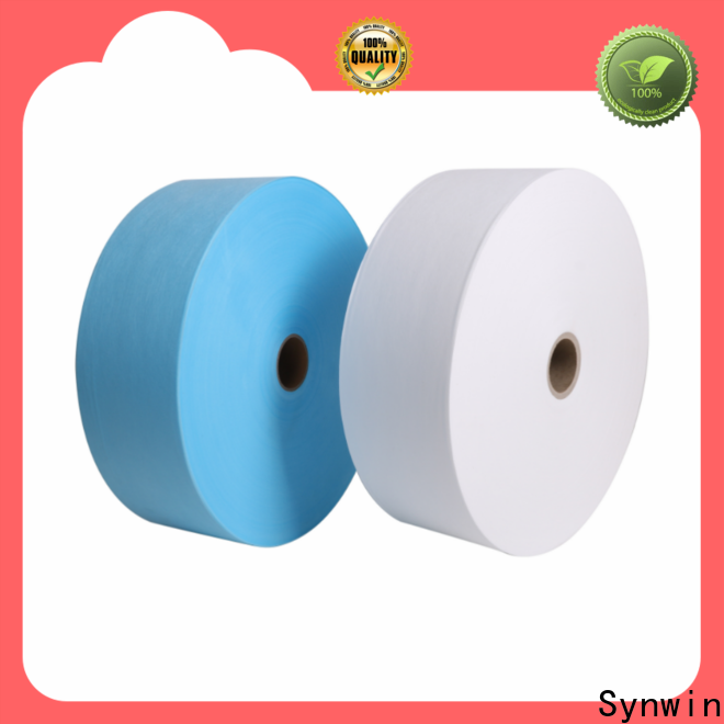 Synwin fabric surgical face mask material factory for hotel