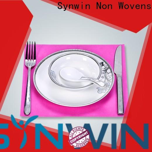 Synwin swtc001 fabric table mats company for tablecloth