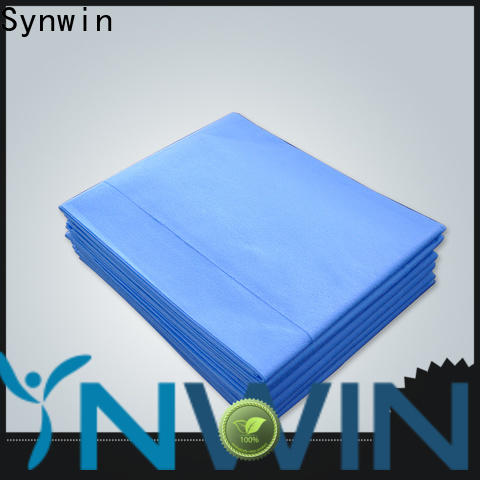 Synwin swmd003 disposable bed sheets suppliers for hotel