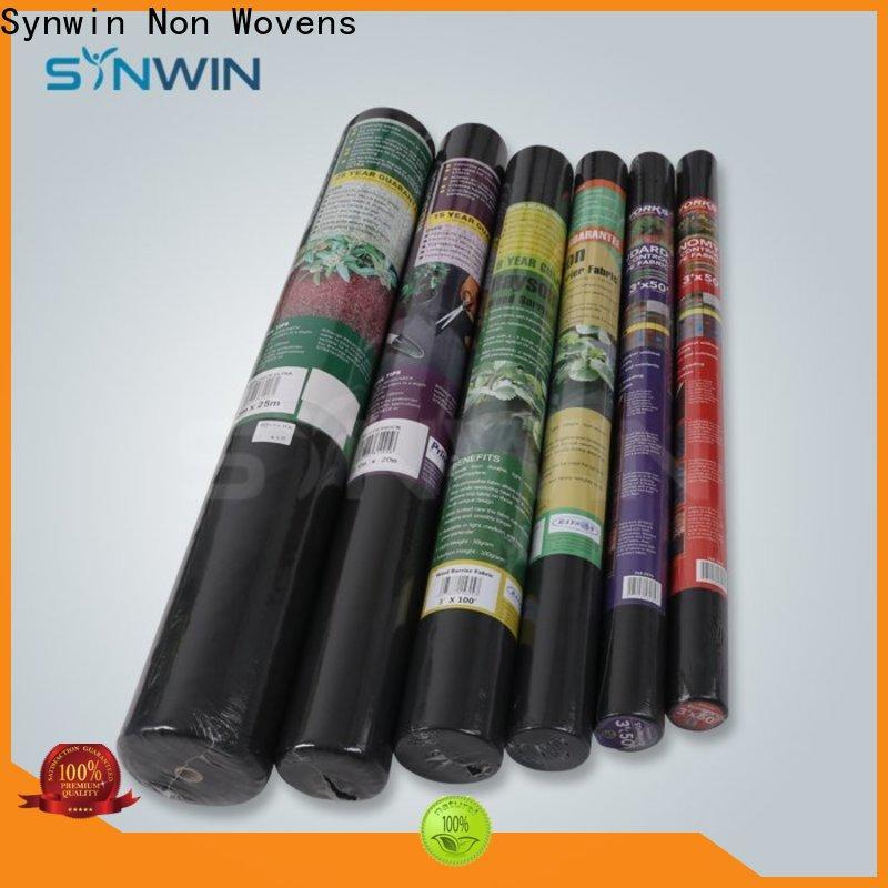 Synwin Custom non woven polypropylene landscape fabric manufacturers for farm