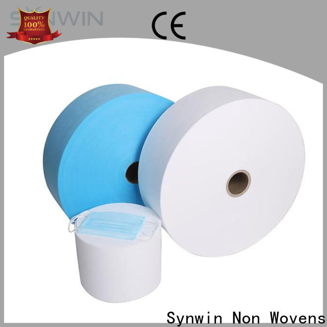 Synwin Top disposable medical mask material manufacturers for tablecloth