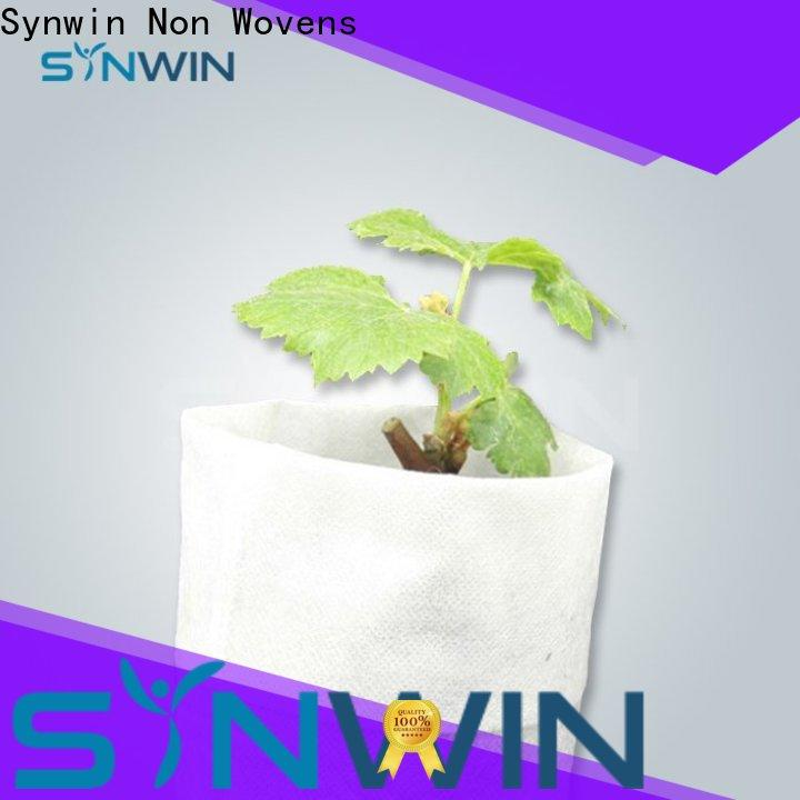 Synwin High-quality non woven plant suppliers for home