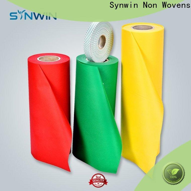 Synwin packing pp spunbond nonwoven fabric suppliers for packaging