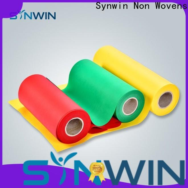 Synwin certified pp spunbond nonwoven fabric supply for household