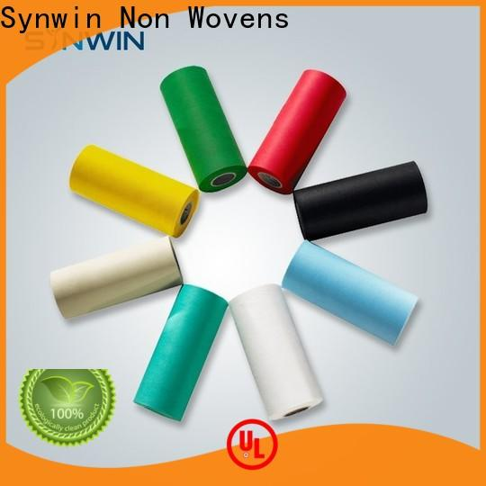 Synwin Best pp non woven fabric manufacturer company for household