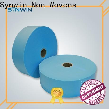 Synwin Custom pp spunbond nonwoven fabric suppliers for packaging