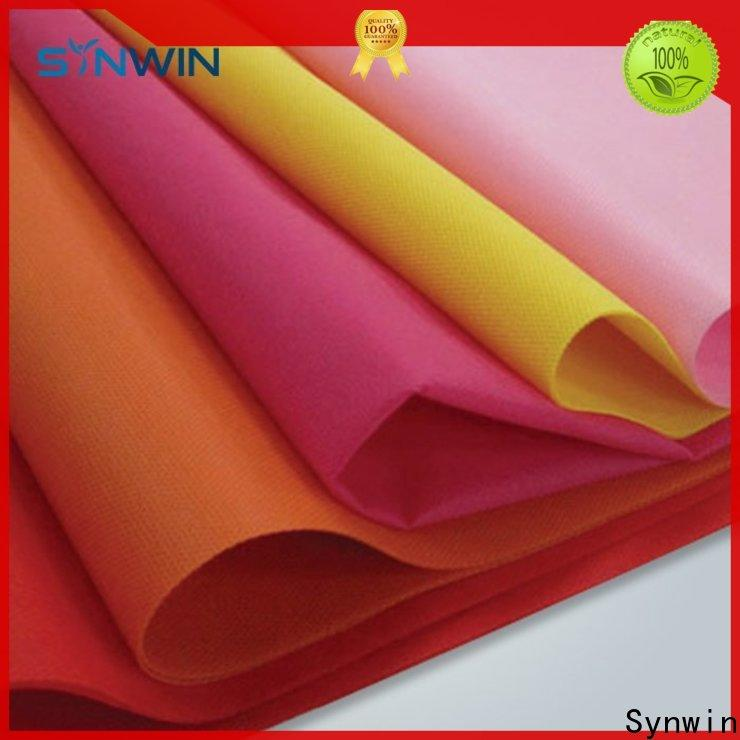 Synwin color spunbond polypropylene fabric manufacturers for home
