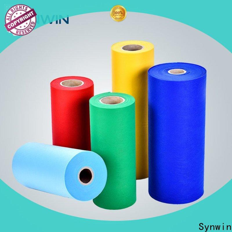 Synwin single spunbond polyester for business for tablecloth