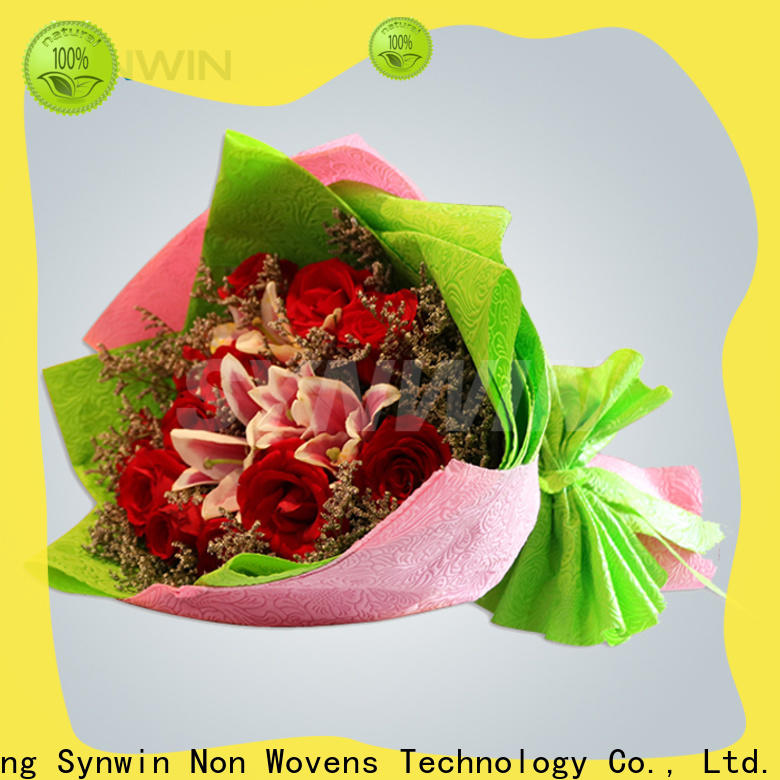 Synwin Custom flower wrapping paper suppliers for business for wrapping
