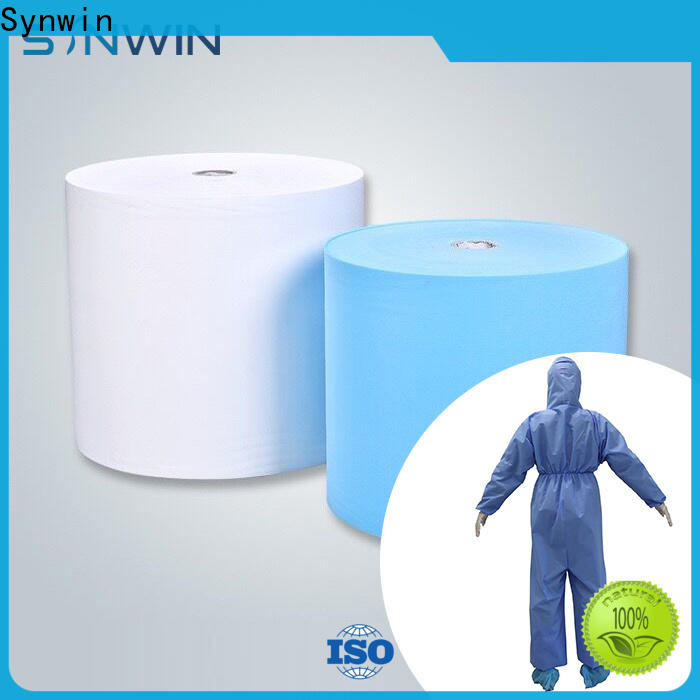 Top disposable medical gowns suppliers fabric supply for household
