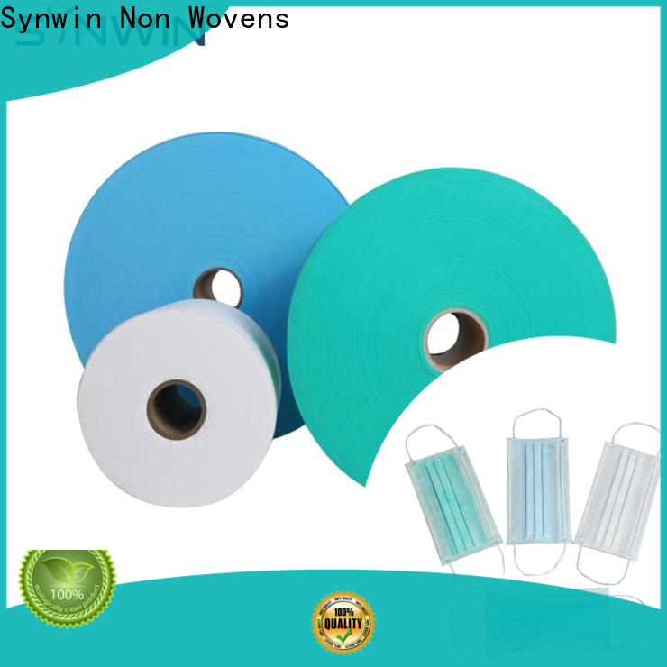 Synwin Latest non woven material manufacturer supply for hospital
