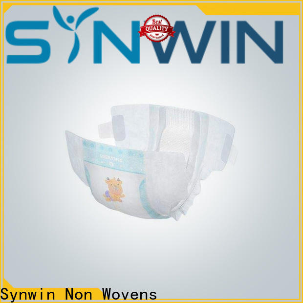 Custom non woven fabric for diaper swmd001 supply for wrapping