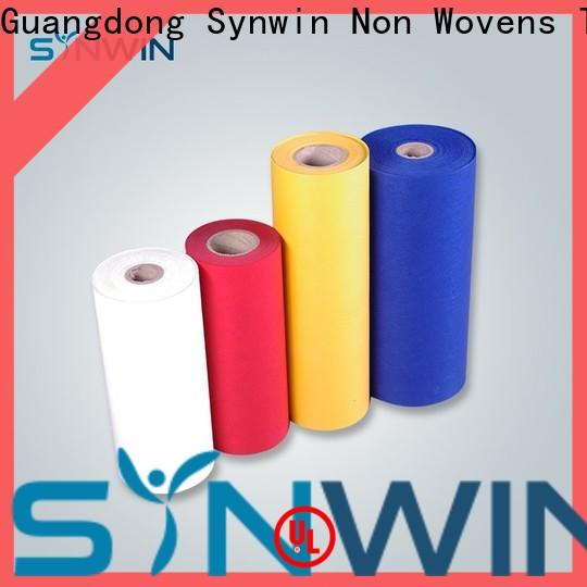 Synwin face pp spunbond nonwoven fabric suppliers for wrapping