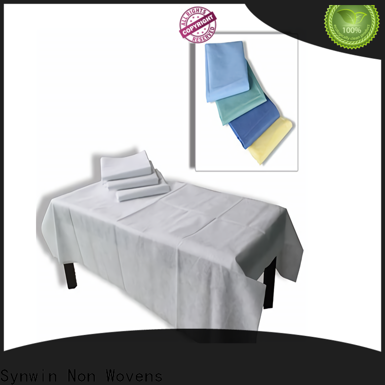 Synwin High-quality disposable hospital sheets supply for home