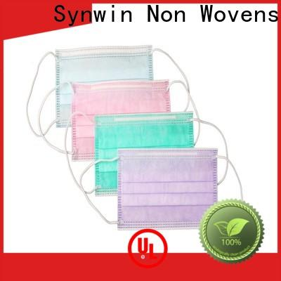 Synwin swmd002 face mask non woven fabric suppliers for hotel
