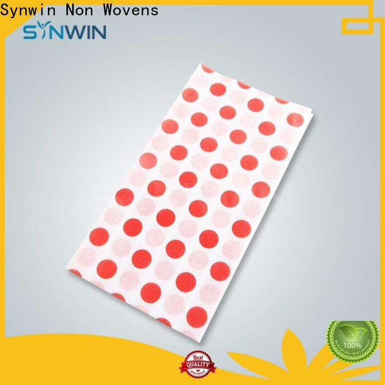 Synwin non non woven fabric tablecloth manufacturers for tablecloth