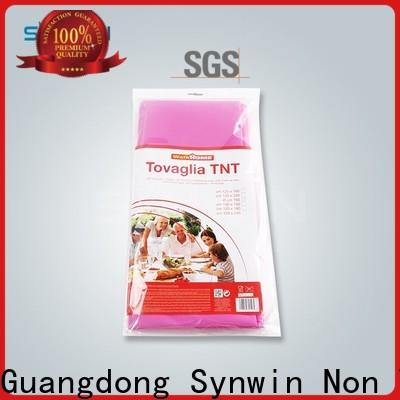 Synwin Top non woven factory suppliers for tablecloth