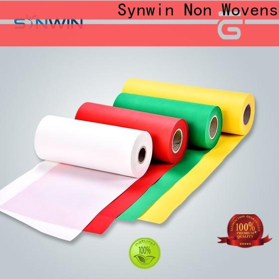 Synwin jumbo pp spunbond nonwoven fabric manufacturers for household