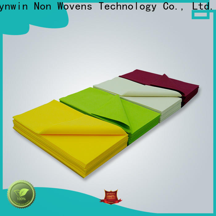 Synwin New non woven fabric tablecloth manufacturers for hotel