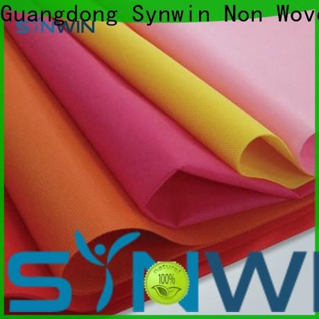 Synwin spunbond non woven polypropylene roll manufacturers for hotel